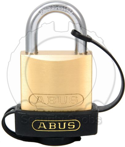 ABUS End Cap for ABUS 83/45 and 83/50 (Brass/Nickel) Padlock