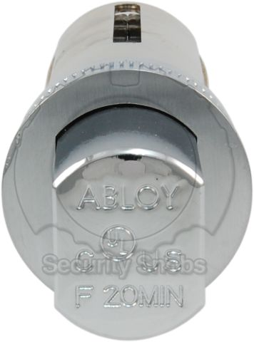 Abloy Deadbolt Drive-In Bolt Edge View