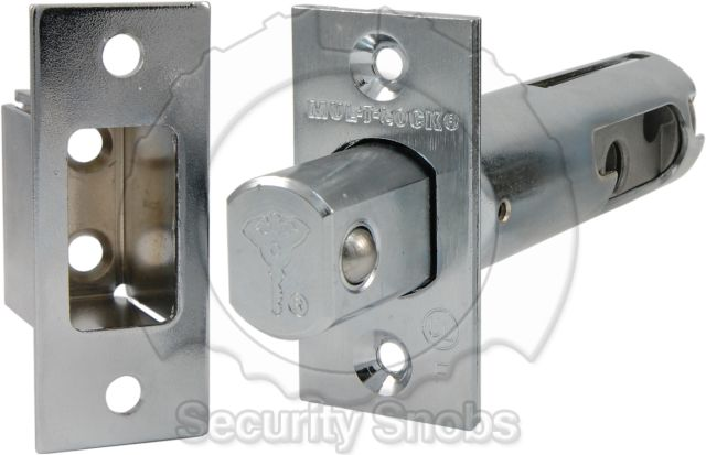 Abloy Deadbolt Expanding Bolt with Reinforced Strike Box