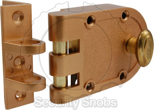 Gentil BiLock Jimmy Proof Deadlock Deadbolt