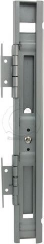 ABUS Filing Cabinet Hasp Inside View with Hinges Open