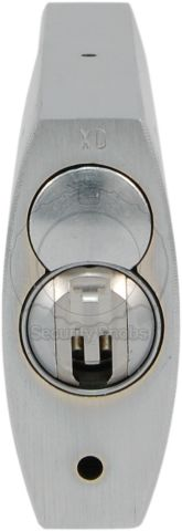 ABUS 83CS-50 Shrouded Padlock with BiLock Core Bottom View