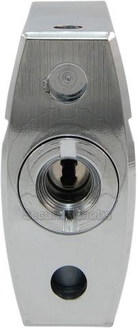 Abloy PL340 Padlock Keyway and Drainage Holes