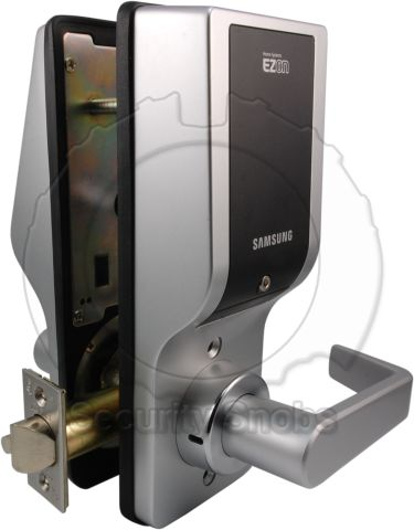 Samsung EZON Digital Lever Lock Inside