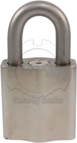 Sargent & Greenleaf Small Environmental Padlock Front View