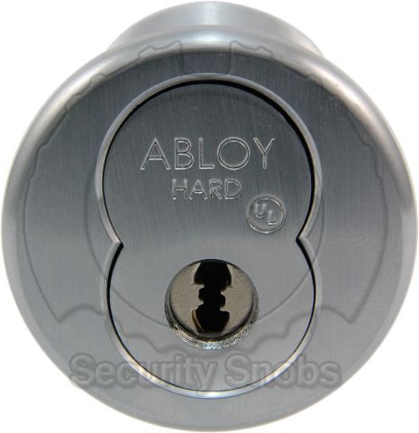 Abloy Yale LFIC Retrofit Cylinder with Rim/Mortise Housing
