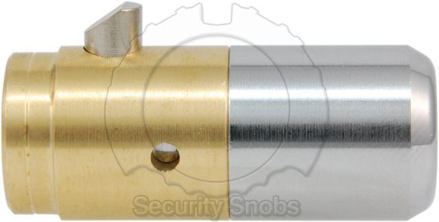 BiLock T-Handle Cylinder Left Side View
