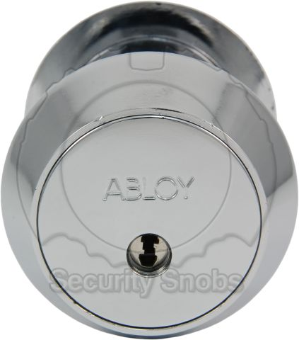 Abloy Double Cylinder Scandinavian Round Outside Face