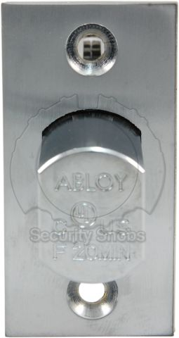 Abloy Deadbolt Standard Bolt Edge View