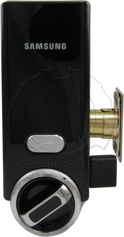 Smart Door Lock Deadbolt Interior Front View