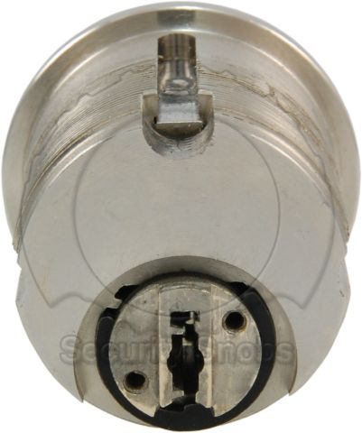 EVVA MCS Mortise Cylinder Rear View