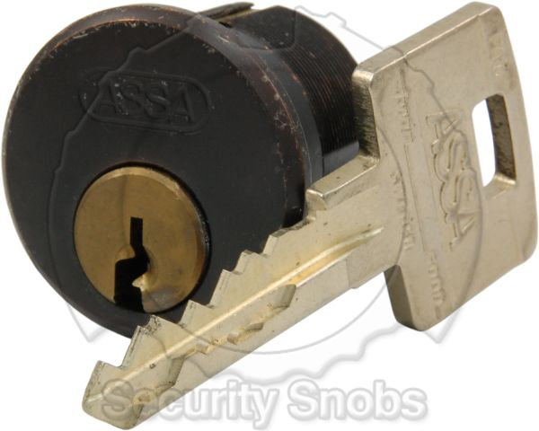 ASSA Twin Mortise Lock Used