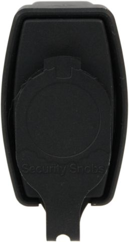 ABUS 83WP-53 Weatherproof Padlock Bottom View With Cap Closed