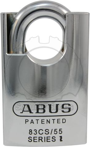 ABUS 83CS-55 Shrouded Padlock Front View