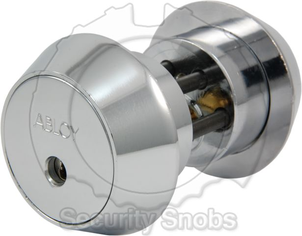 Abloy Double Cylinder Scandinavian Round