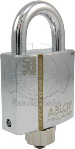 PLM340 Super Weatherproof Padlock with Sealed Shackle and Protective Cap
