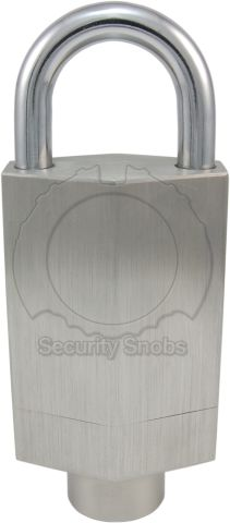 Simons Voss Wireless Extreme Weather Padlock Front View (Standard Version)