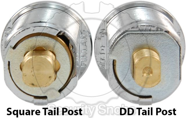 Cam Lock Tail Comparison