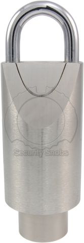 Simons Voss Wireless Extreme Weather Padlock Front View (Round Version)