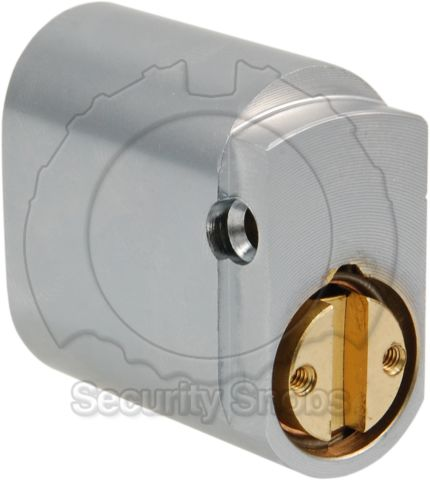 Abloy Australian Oval Rear Profile View
