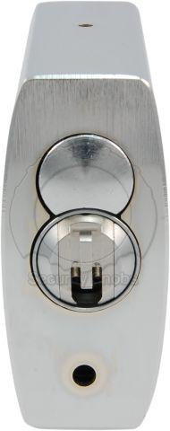 ABUS 83-55 Padlock with BiLock Core Bottom View