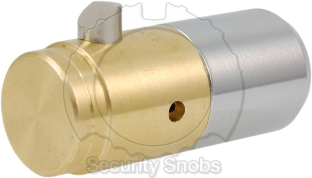BiLock T-Handle Cylinder Rear Profile View