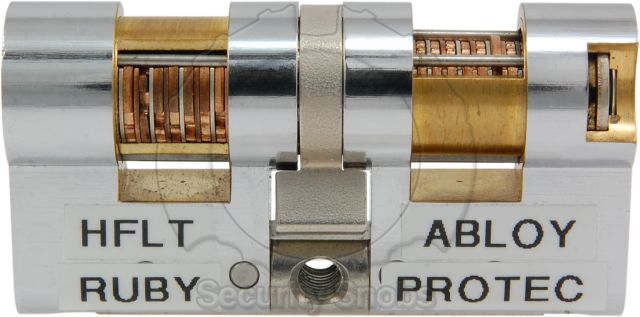 Abloy Protec Euro Cutaway Left Side