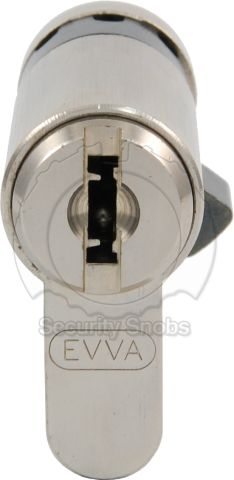 EVVA MCS Euro Profile Single/Half Cylinder Front Face and Keyway