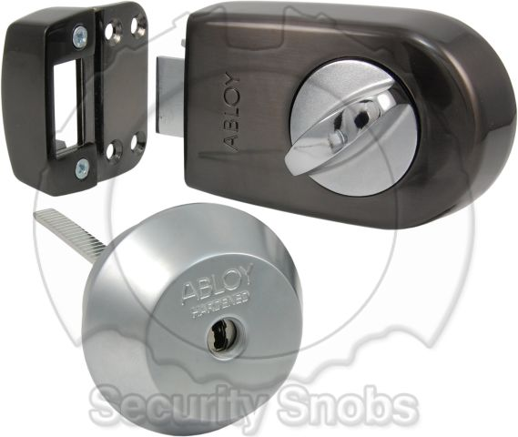Abloy Complete Rim Latch Lock