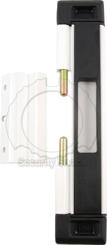 DJA Sliding Door Security Latch Unlocked with Bolts Extended