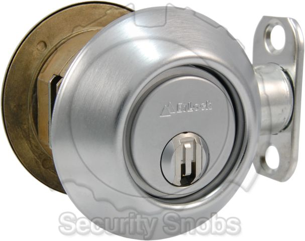 BiLock Grade 1 Single Cylinder Deadbolt