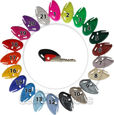 BiLock Key Colors