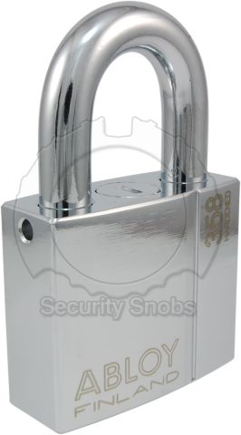 Abloy Protec2 PL 358 Hardened Steel Padlock w/ Removable Shackle