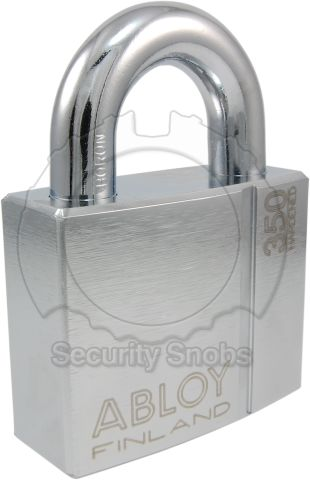 Abloy Protec2 PL 350 Hardened Steel Padlock