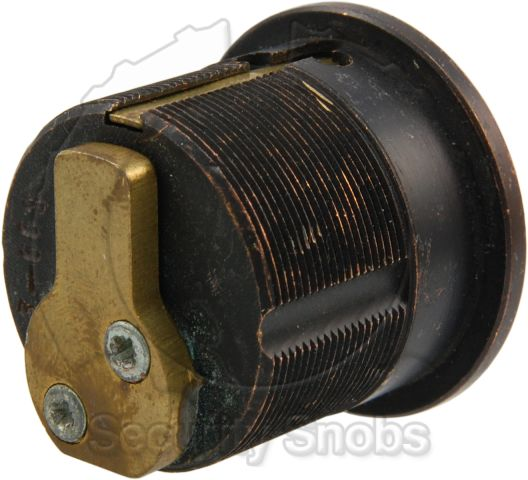 ASSA Twin Used Mortise Cylinder Rear View