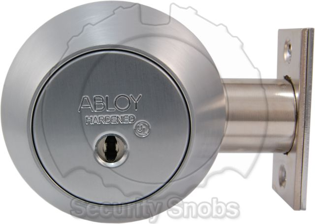 Abloy Single Cylinder Deadbolt Thumbturn Abloy Single Cylinder Deadbolt  Exterior ...