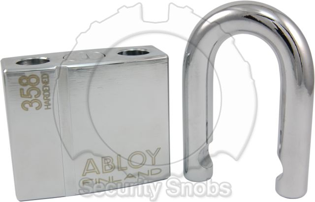 Abloy PL358 Padlock with Shackle Removed