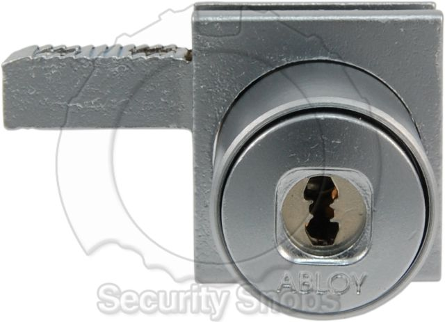 Abloy Rail Mounted Pushlock Front View