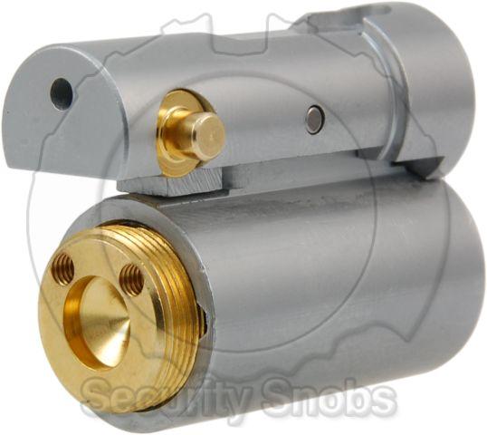 BiLock Schlage I/C Retrofit Cylinder Rear Profile View
