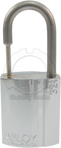 Abloy SP321 Thin Shackle Padlock Front View