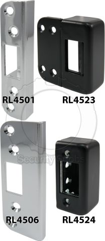 Strike Options for Abloy Complete Rim Latch Lock