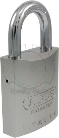 ABUS Titalium Medium Padlock with BiLock or Abloy Protec2 Core