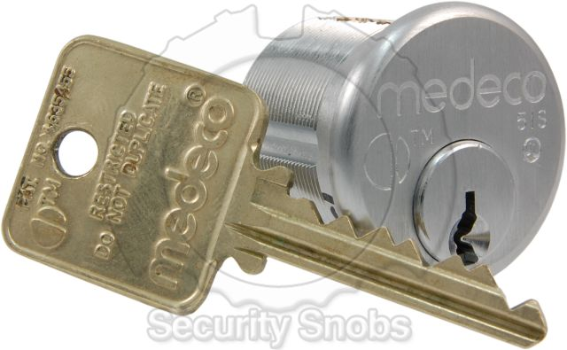 Medeco Biaxial Mortise New
