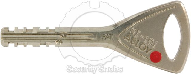 Abloy Protec Cut Key
