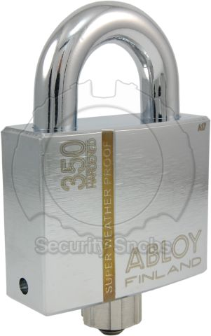 PLM350 Super Weatherproof Padlock with Sealed Shackle and Protective Cap