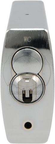 ABUS 83CS-55 Shrouded Padlock with BiLock Core Bottom View