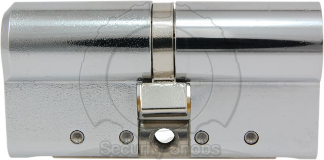 Abloy Hardened Steel Euro Profile Double Cylinder Side View