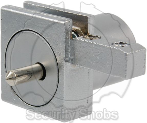 Abloy Rail Mounted Pushlock Rear Profile View
