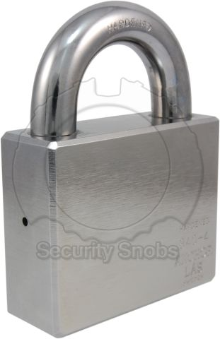 Anchor Las 840-4 Grade 5 Padlock For Oval/Snowman Cylinders