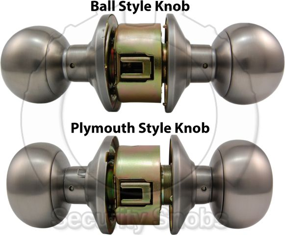 Knob Lock With Bilock Or Abloy Protec2 Core Knob